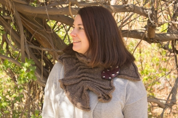 Rachel's Jul Lava Flow Cowl