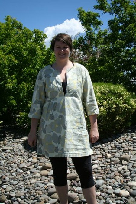 Kristen's 2nd Schoolhouse Tunic