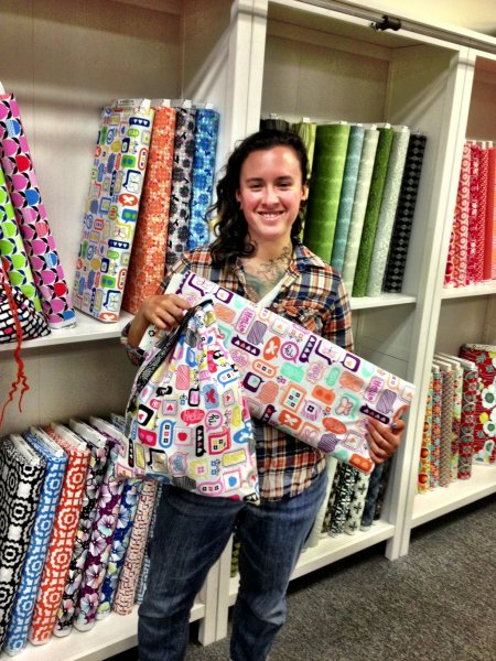 Sharon's Sew Project Bags