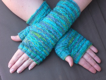 Rachel's Seeta Fingerless Gloves