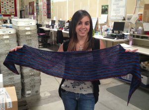 Madison's Truckee Shawlette