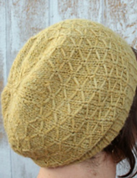 Kristen's Winter Wheat Hat