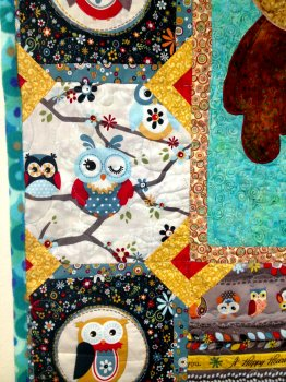 Gus' Baby Owl Quilt