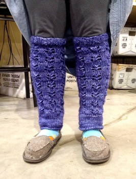 Bethany's 'Some Cloudy Day' Legwarmers