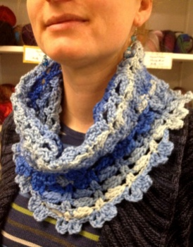 Monika's Heartsease Cowl