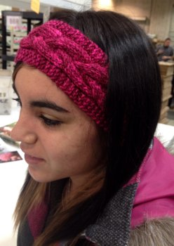 Madison's Tosh Vintage Cabled Headband