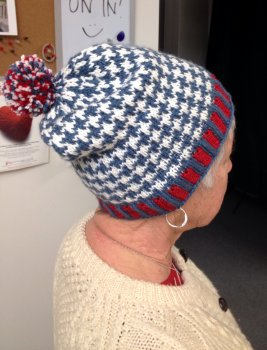 Sandy's Houndstooth Hat