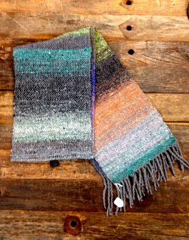 Gus's Woven Noro Scarf