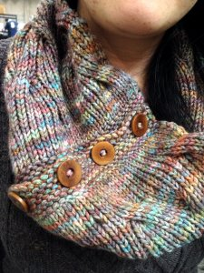 Ailene's Reversible Tangled Branches Cowl