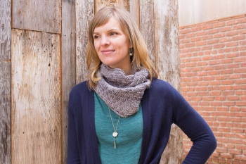 Jenny's Easy Cowl in Any Gauge