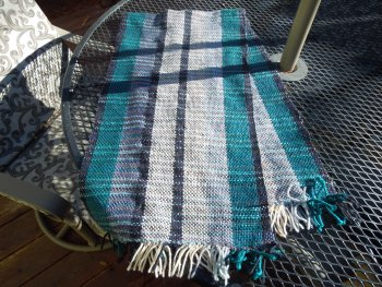 Gus's Woven Bated Breath Scarf