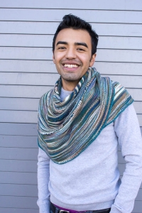 Chris's Glacier Sweep Shawl