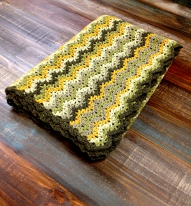 Jeanne's Vintage Crochet Throw