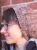Laura's Pashmina Quick Cable Slouch Hat