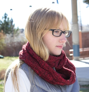 Heather's Sylkie Cowl