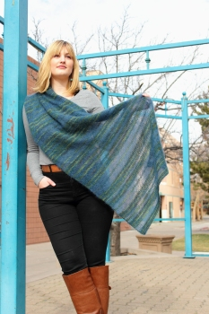 Laura's Lithosphere Shawls