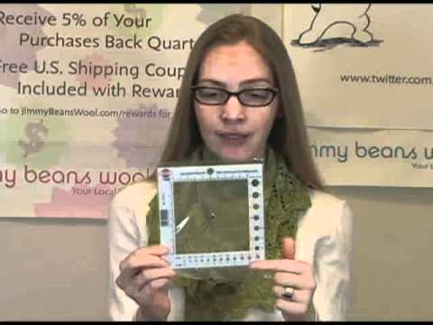 Addi - Stitch Counting Frame & Needle Gauge Video Review by Gina