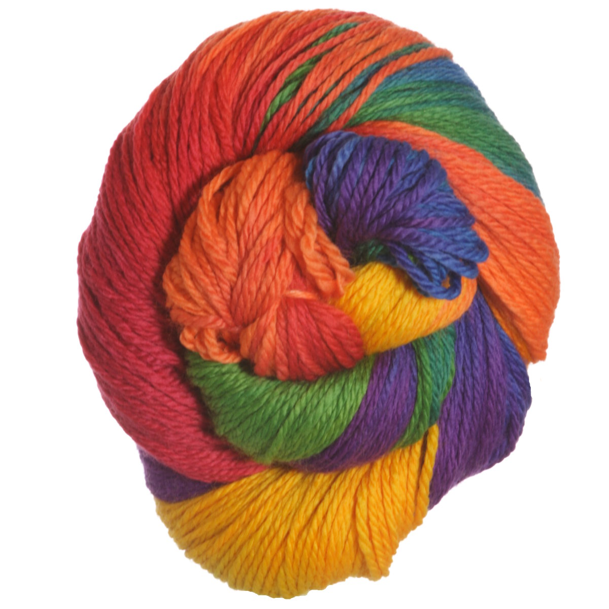 Worsted Yarn : Lornas Laces Shepherd Worsted Yarn - Rainbow at Jimmy Beans Wool