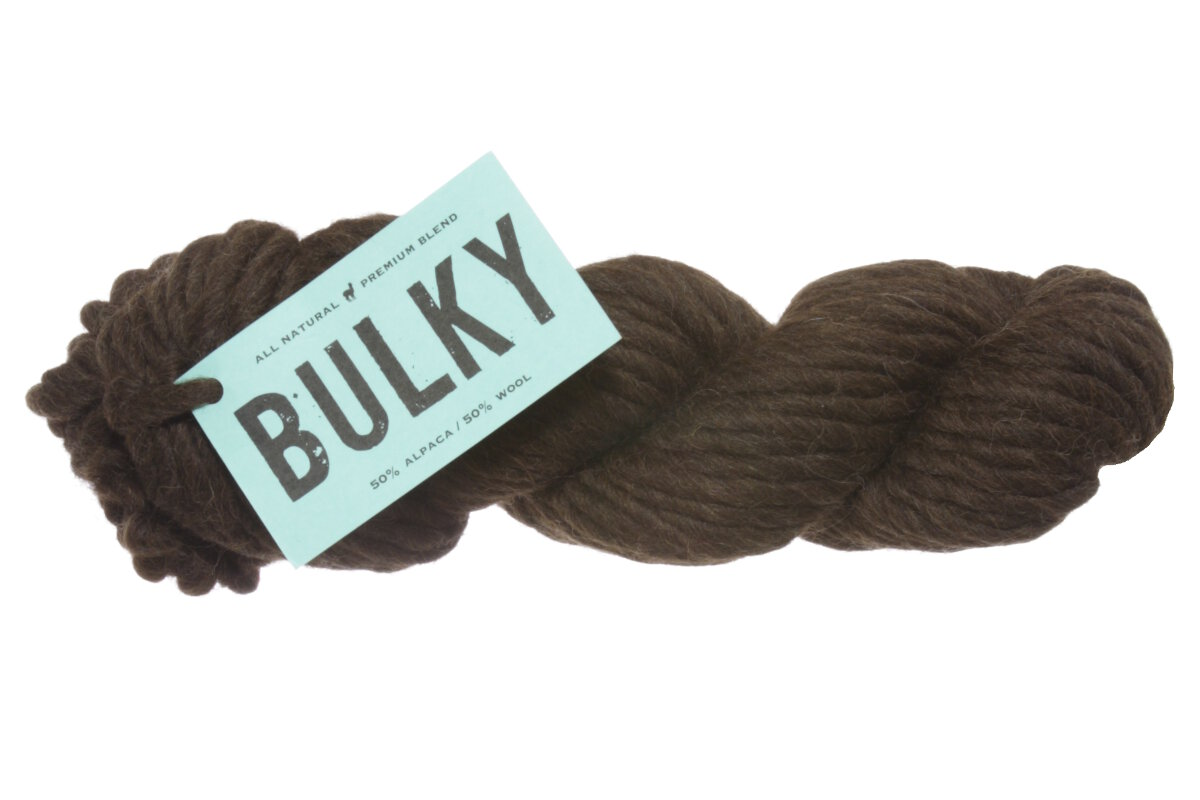 2ce527f7859687 Blue Sky Fibers Blue Sky Bulky Yarn - 1006 Brown Bear at Jimmy Beans ...