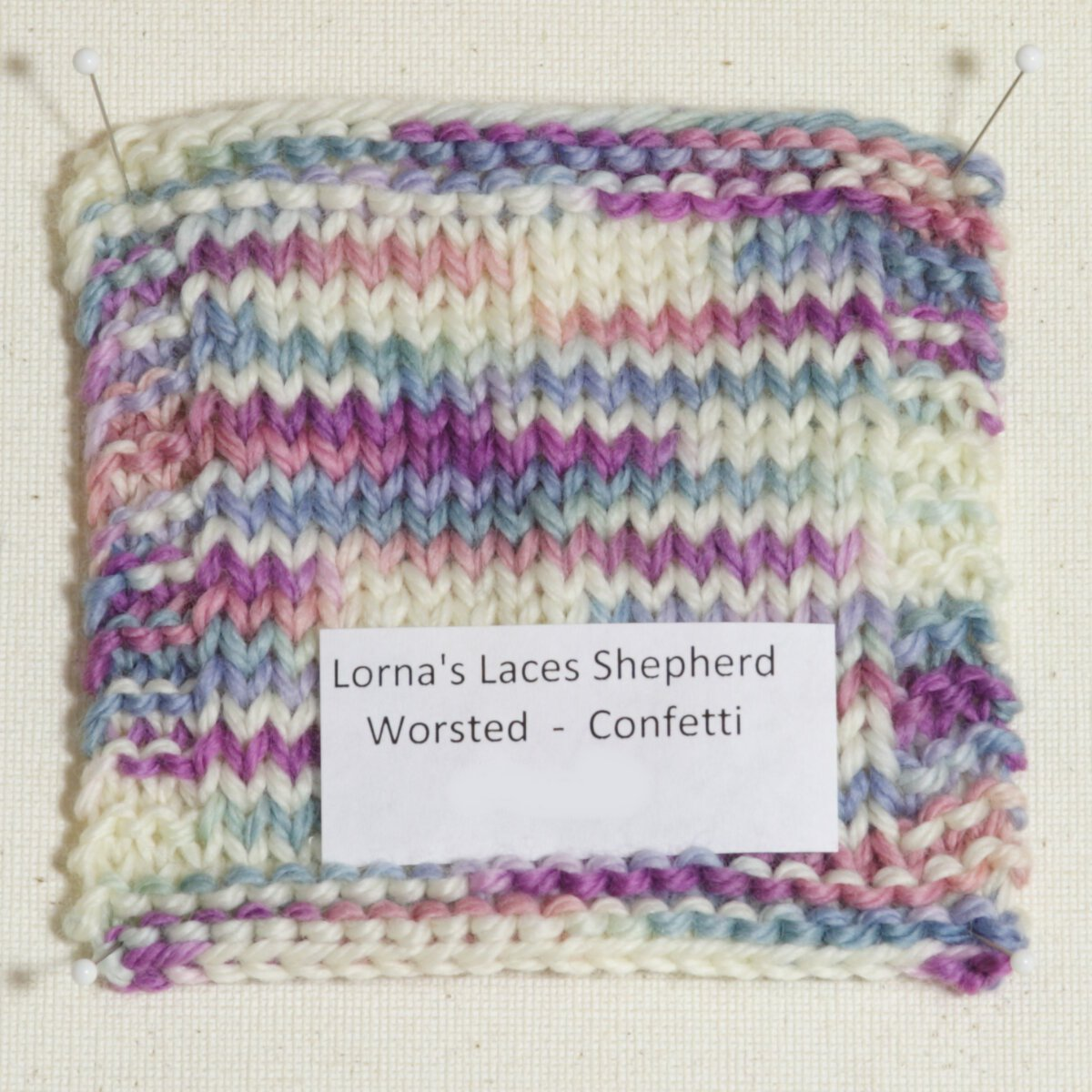Lorna\'s Laces Shepherd Worsted Yarn - Confetti Project Ideas at ...