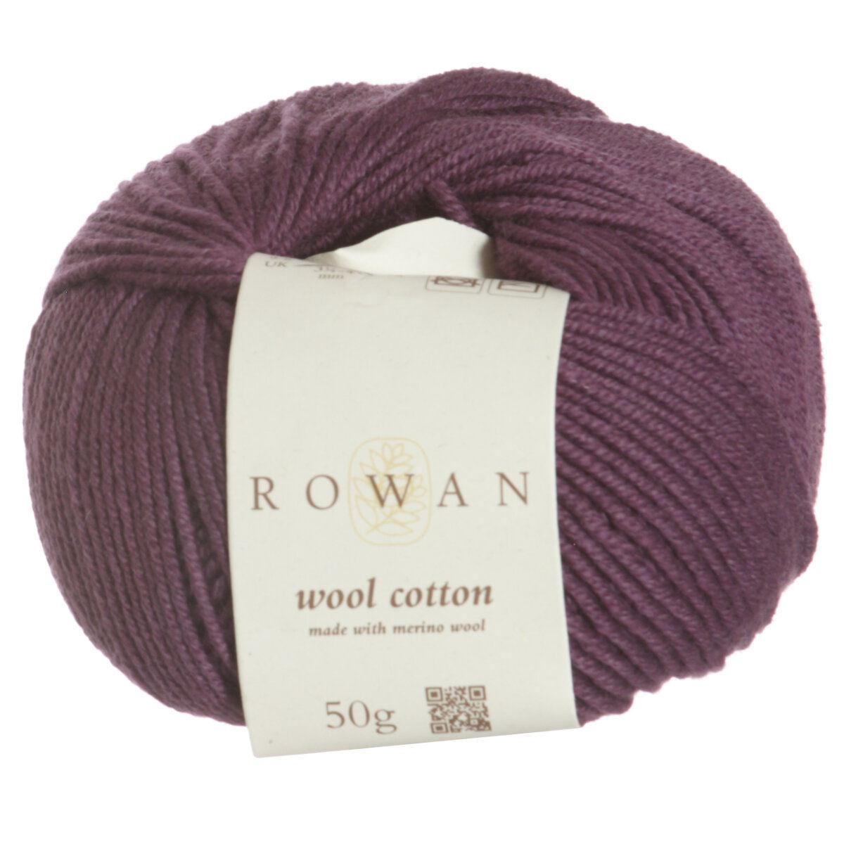 Knitting Patterns Rowan Wool Cotton : Rowan Wool Cotton Yarn - 969 - Bilberry Reviews at Jimmy Beans Wool