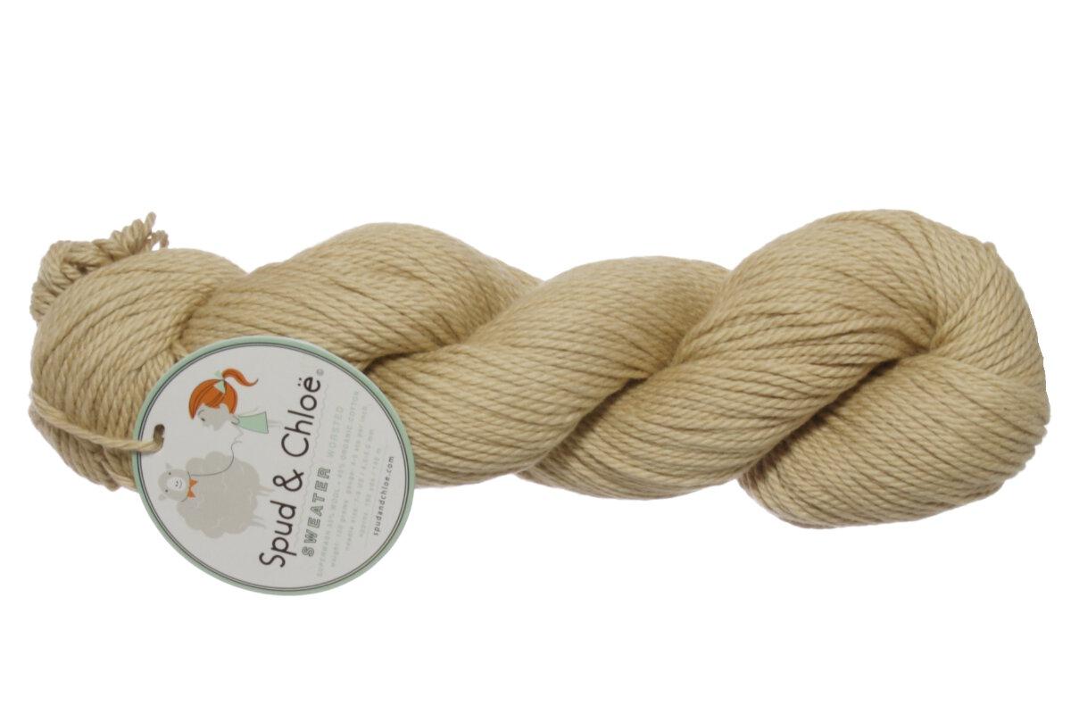 Spud Chloe Sweater Yarn 7506 Toast At Jimmy Beans Wool