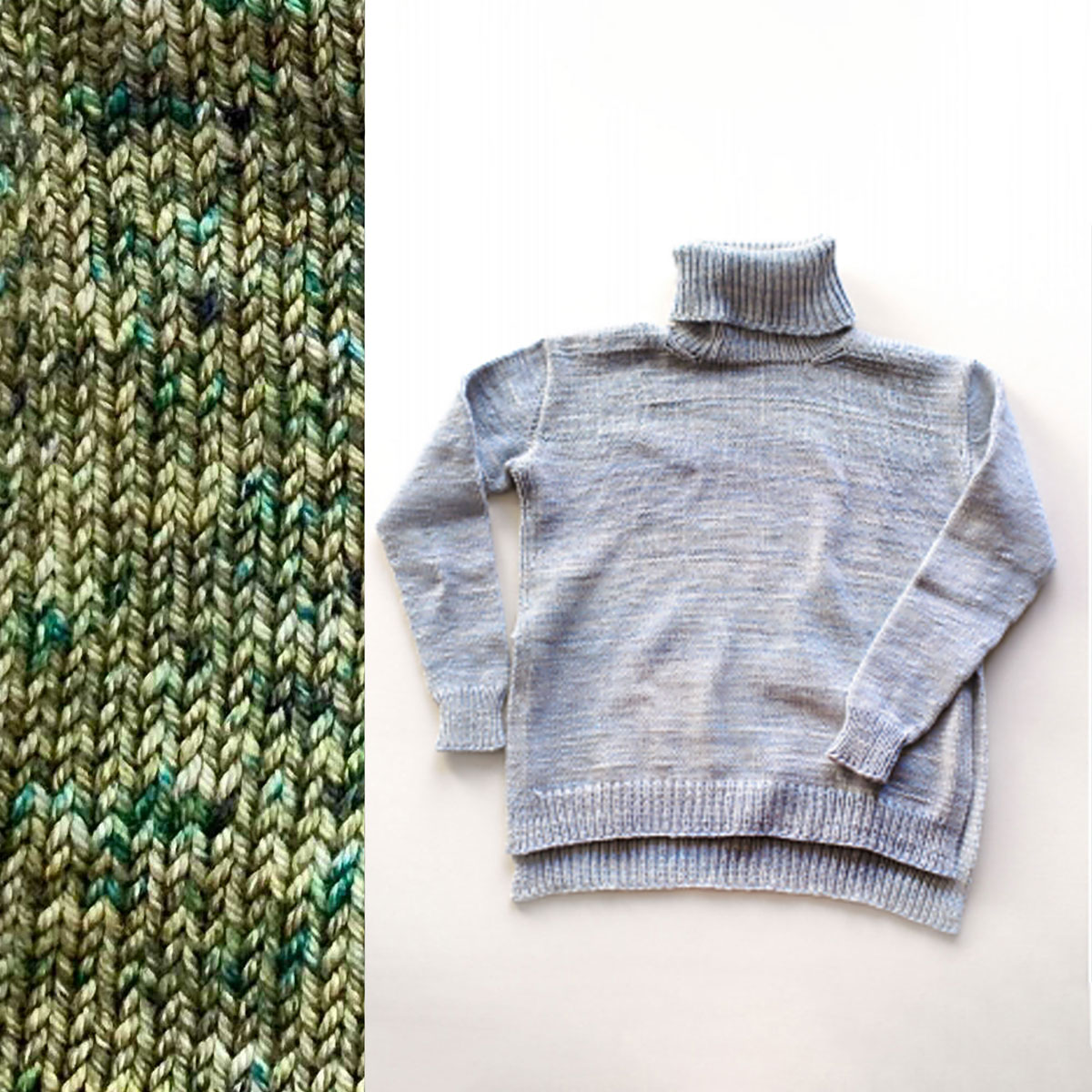Madelinetosh Sweater Club - Olive You