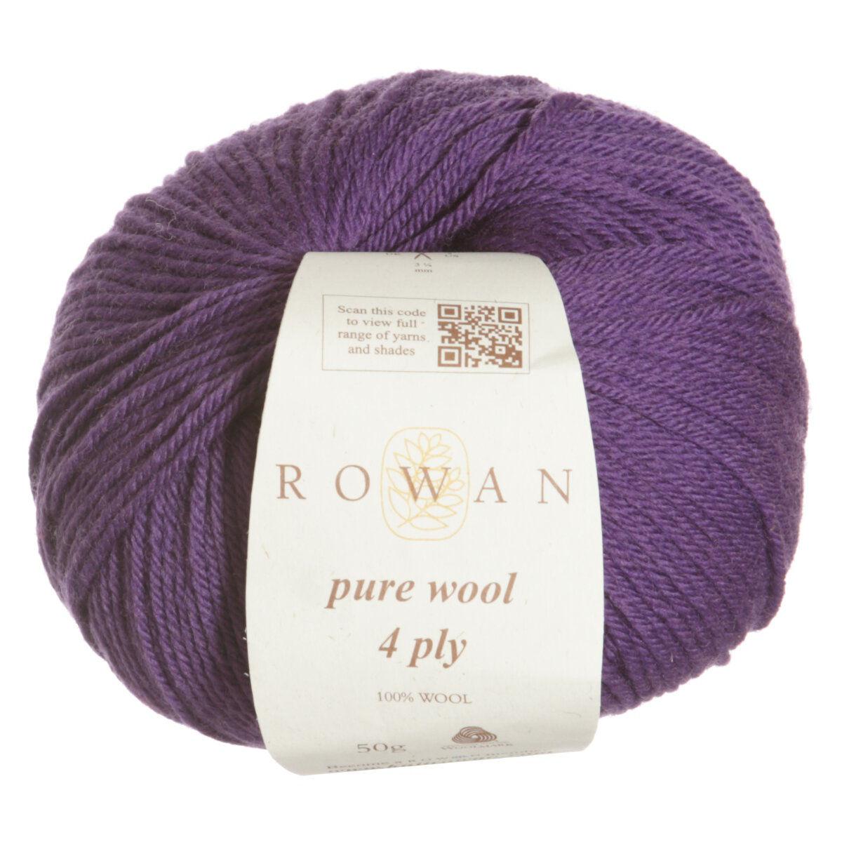 Knitting Patterns 4 Ply Wool : Rowan Pure Wool 4 ply Yarn at Jimmy Beans Wool