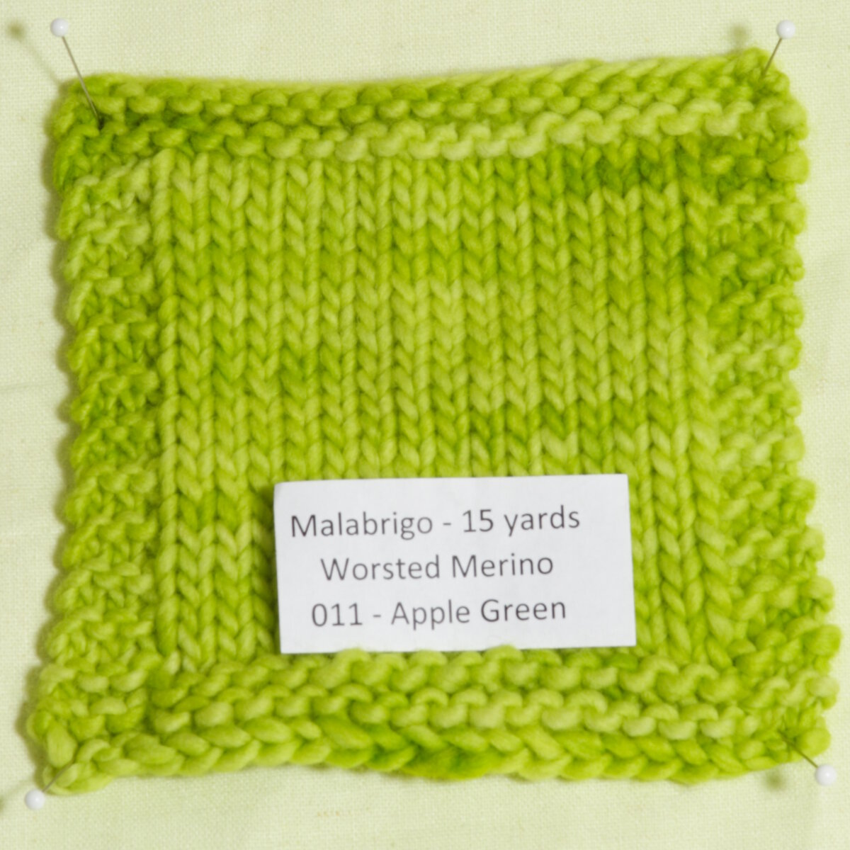 Malabrigo Knitting Patterns : Malabrigo Worsted Merino Yarn - 011 - Apple Green Detailed Description at Jim...
