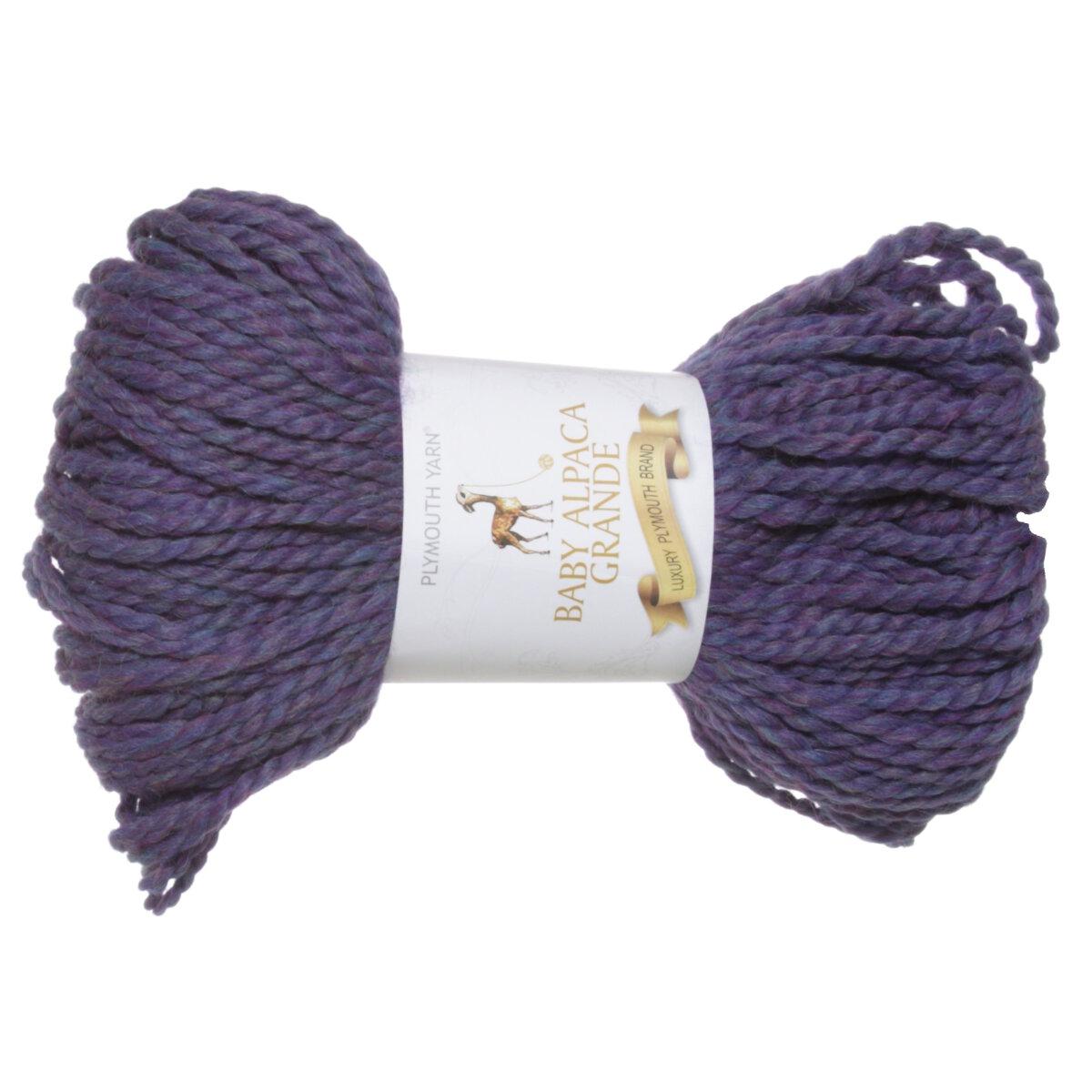 Plymouth Yarn Baby Alpaca Grande Yarn 0835 Blue Mix At