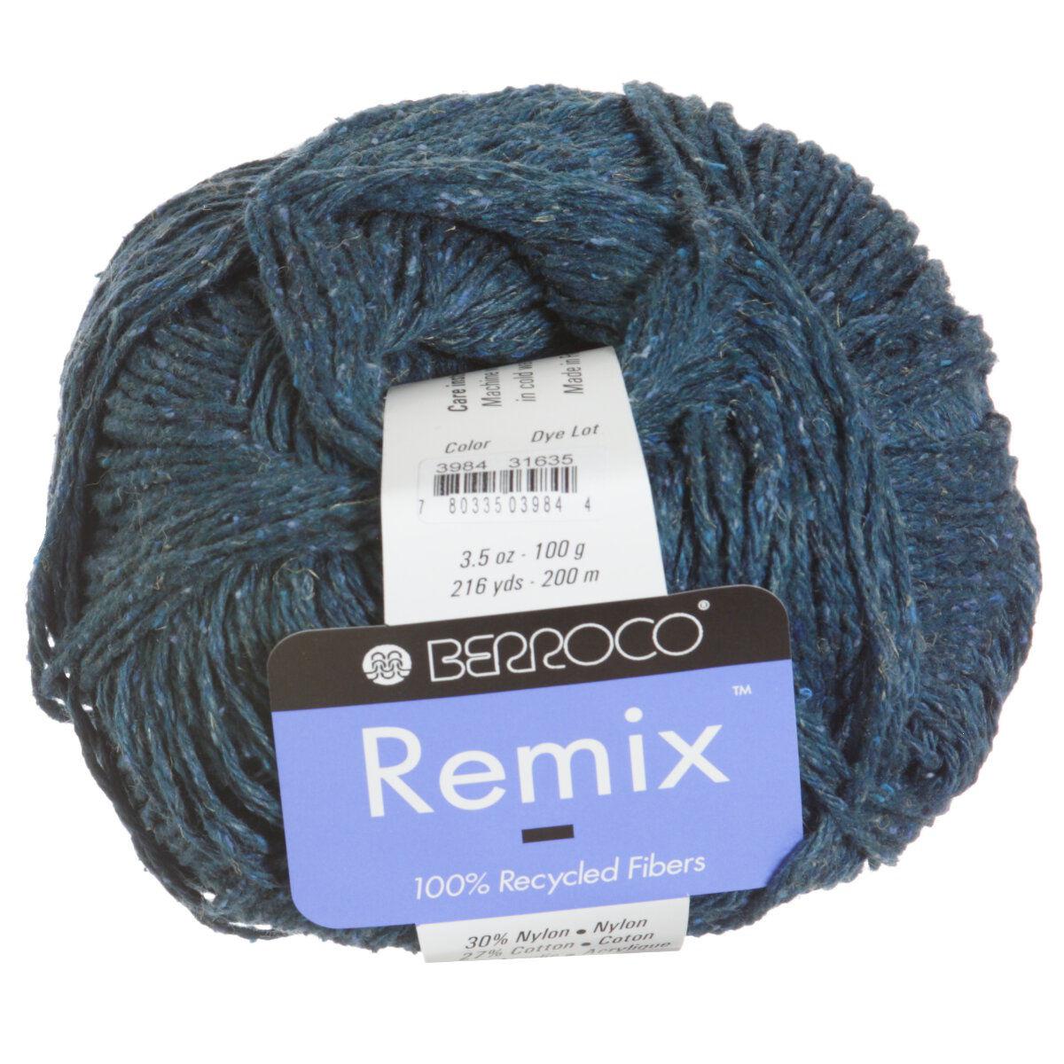 e016ddb5f Berroco Remix Yarn - 3984 Ocean Project Ideas at Jimmy Beans Wool