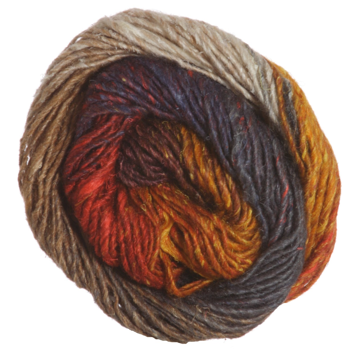 Noro Silk Garden Yarn - 349 Burnt Orange, Wine, Greys, Taupe at ...