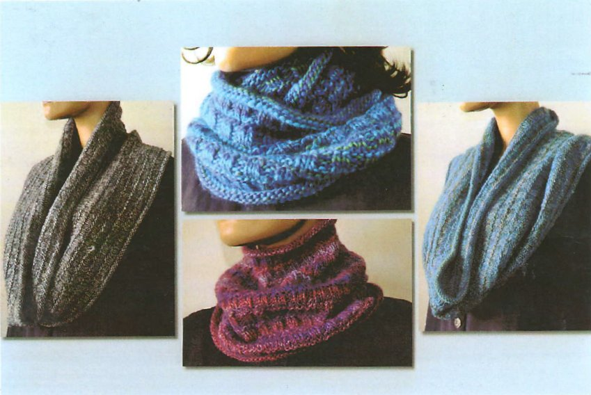 Ann Norling Patterns 71 Easy Cowl In Any Gauge Pattern At Jimmy