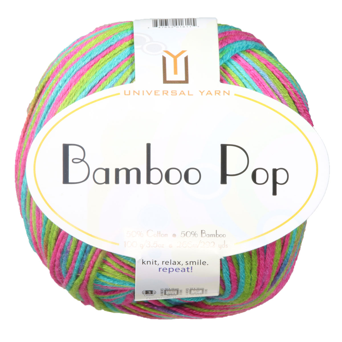Universal Yarns Bamboo Pop Yarn 204 Happy Birdie At