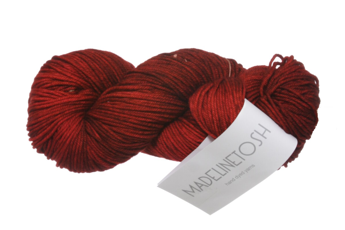 Madelinetosh Tosh Vintage Yarn - Robin Red Breast (Discontinued) at Jimmy Bea...