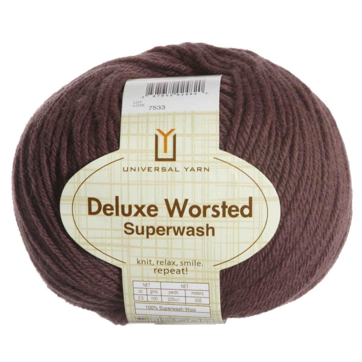 Universal Yarns Deluxe Worsted Superwash Yarn 727