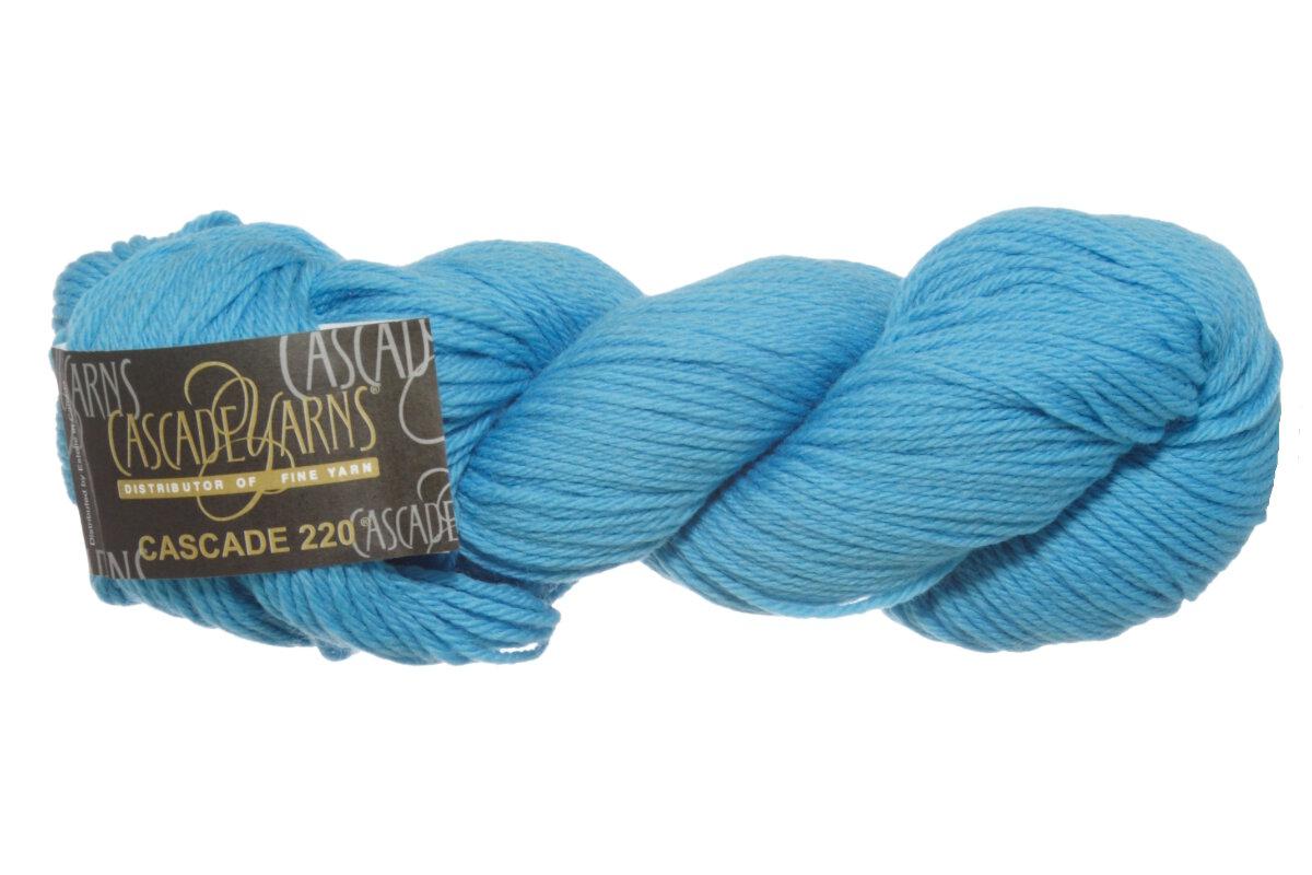 Cascade Yarns : Cascade 220 Yarn - 8951 - Aqua at Jimmy Beans Wool