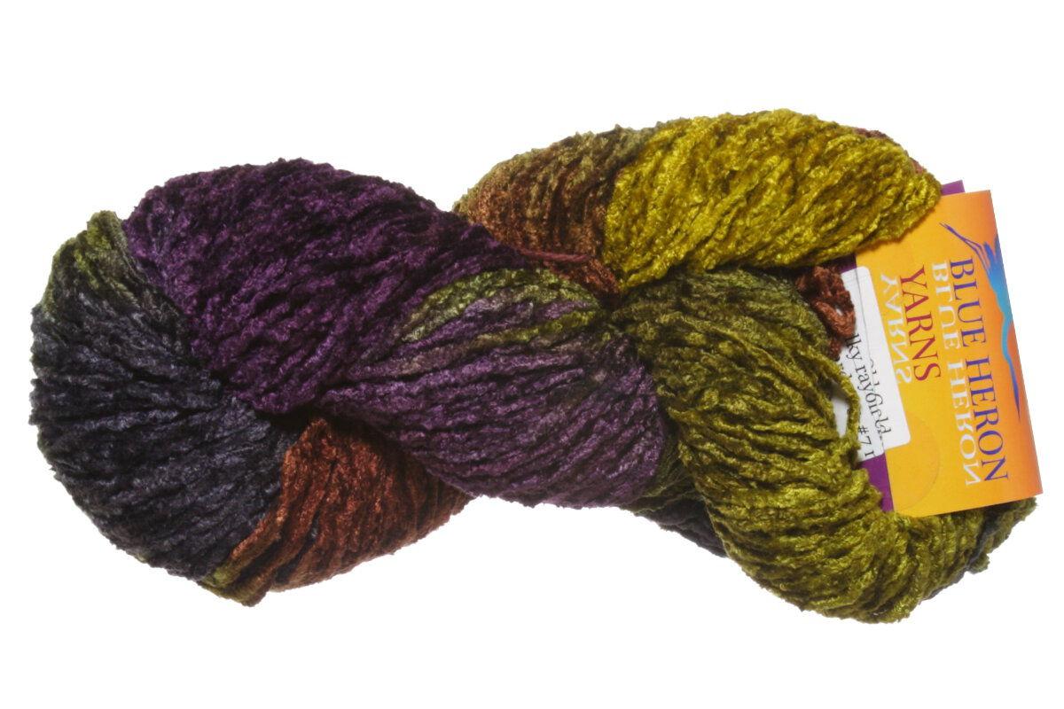 Blue Heron Yarns Bulky Rayon Chenille Yarn at Jimmy Beans Wool