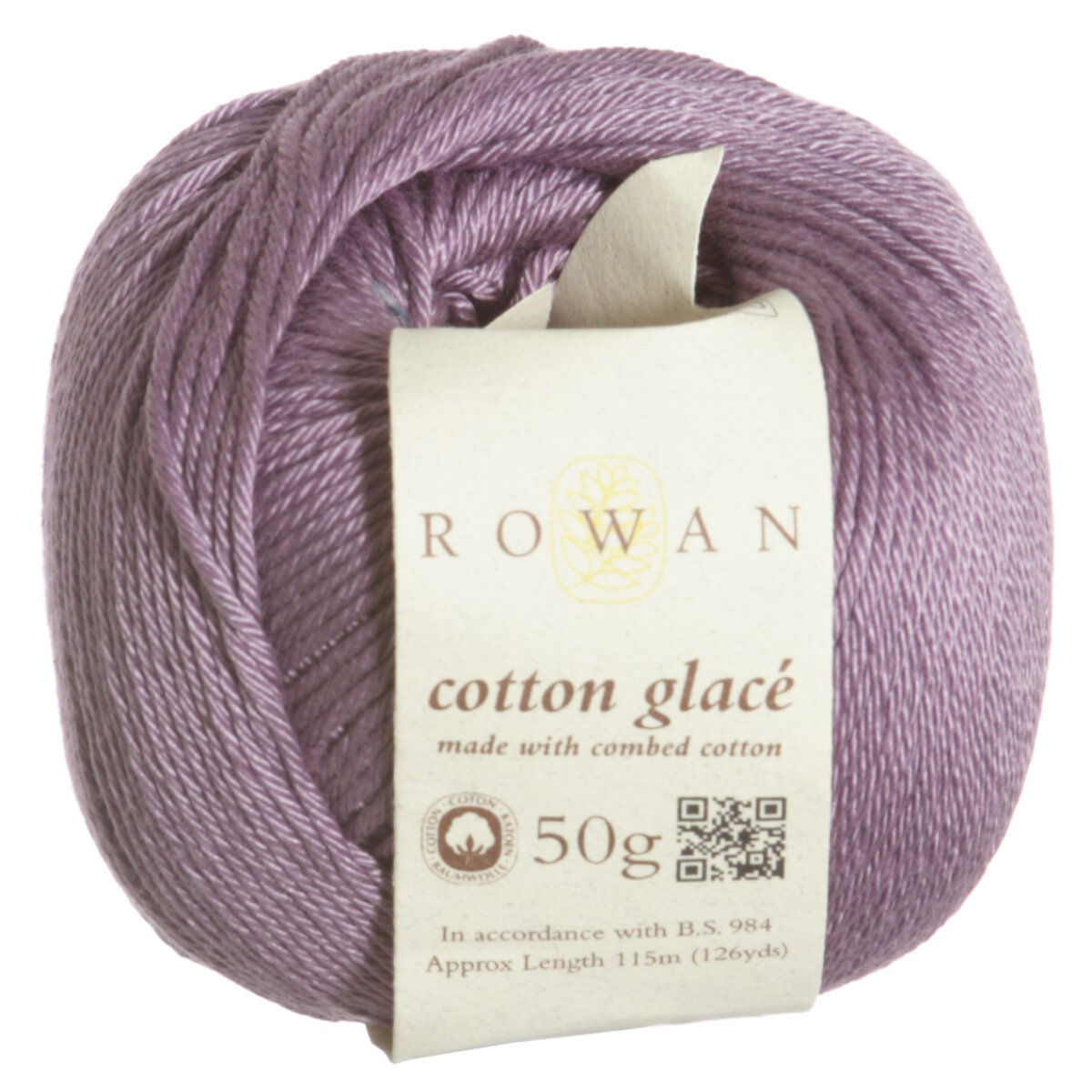 Rowan Cotton Glace 828 cotton glace Heather