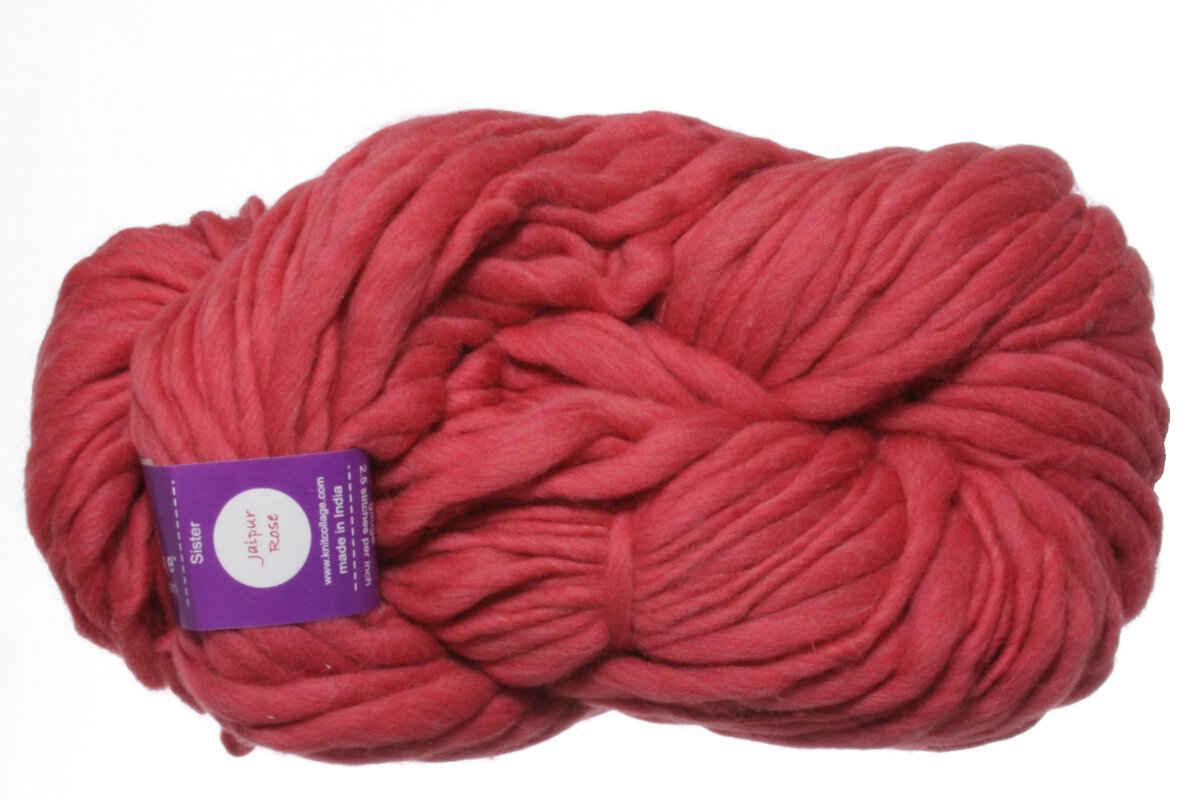 Knitting Rose Yarns : Knit collage sister yarn jaipur rose project ideas at