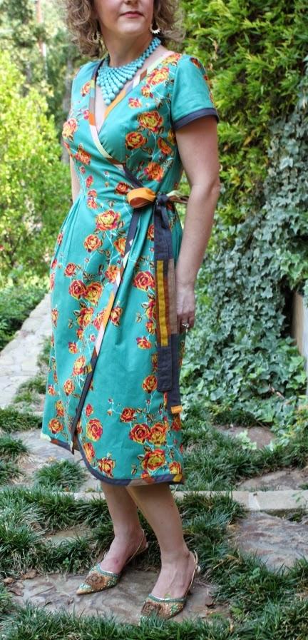 Serendipity Studio Sewing Patterns Ramona Wrap Dress Pattern