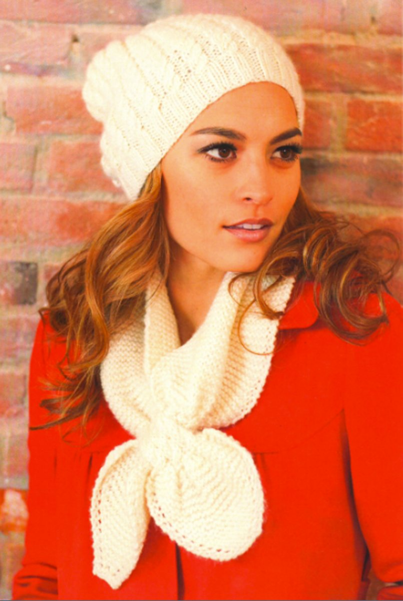 Plymouth Yarn Women\'s Accessory Patterns - 2745 Woman\'s Cable Hat ...