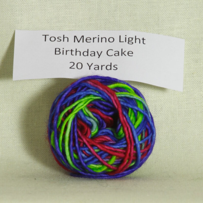 Madelinetosh Tosh Merino Light Samples Yarn