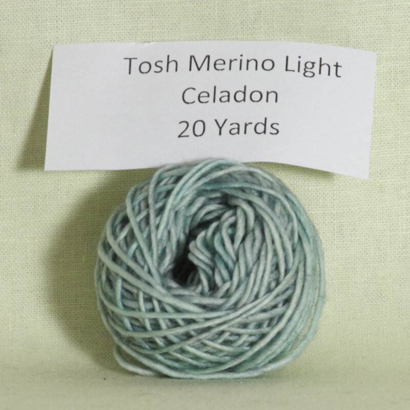 madelinetosh tosh merino light samples yarn celadon at jimmy beans. Black Bedroom Furniture Sets. Home Design Ideas
