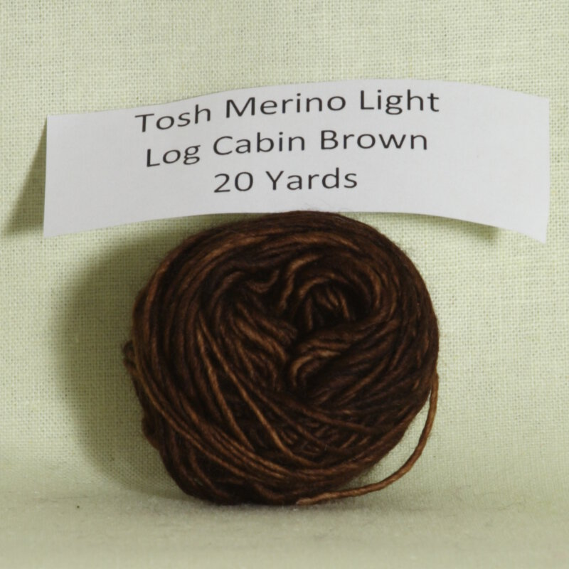 madelinetosh tosh merino light samples yarn log cabin brown at jimmy. Black Bedroom Furniture Sets. Home Design Ideas