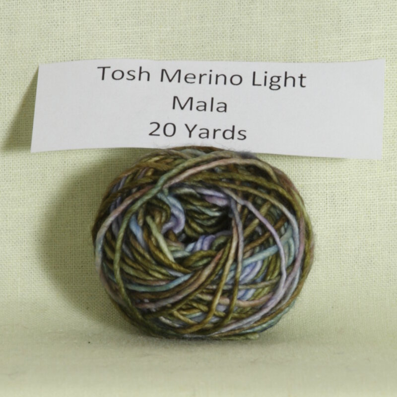 madelinetosh tosh merino light samples yarn mala discontinued at. Black Bedroom Furniture Sets. Home Design Ideas