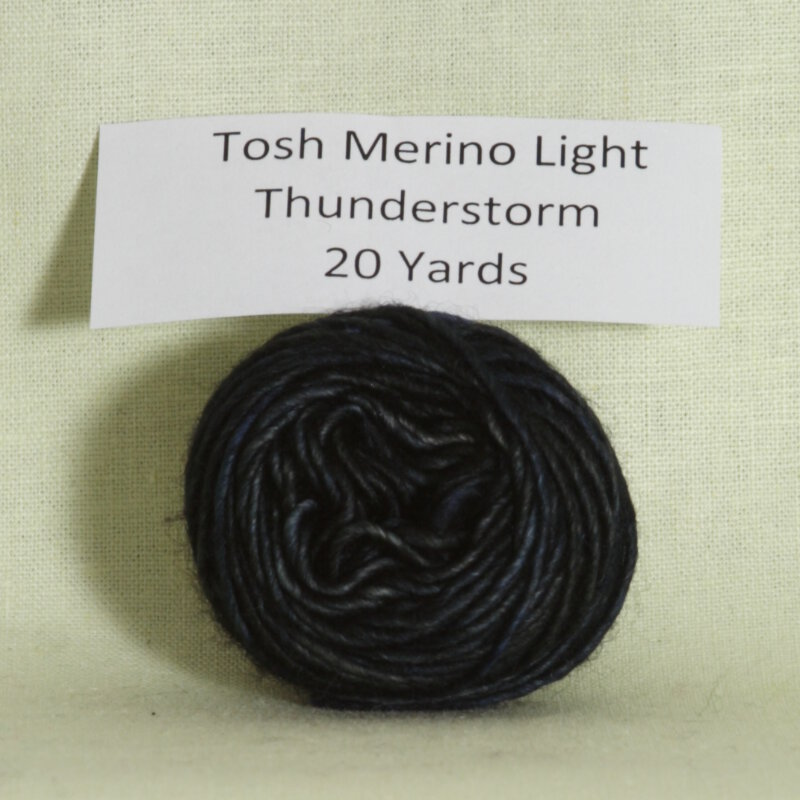 madelinetosh tosh merino light samples yarn thunderstorm at jimmy. Black Bedroom Furniture Sets. Home Design Ideas