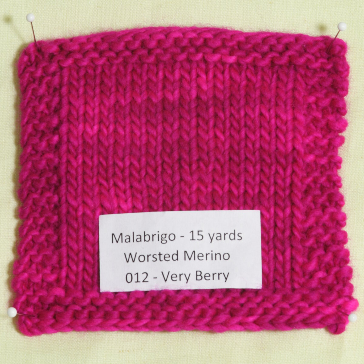Knitting Patterns For Worsted Wool : Malabrigo Worsted Merino Yarn - 012 - Very Berry at Jimmy Beans Wool