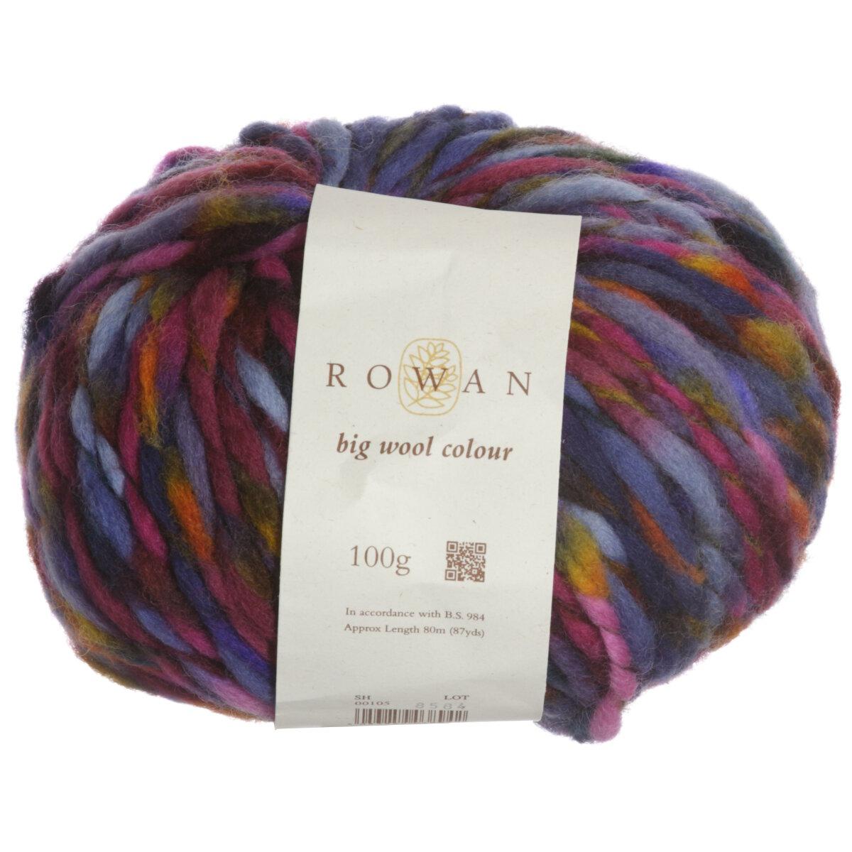 Knitting Patterns For Rowan Big Wool : Rowan Big Wool Colour Yarn - 105 Waltzer at Jimmy Beans Wool
