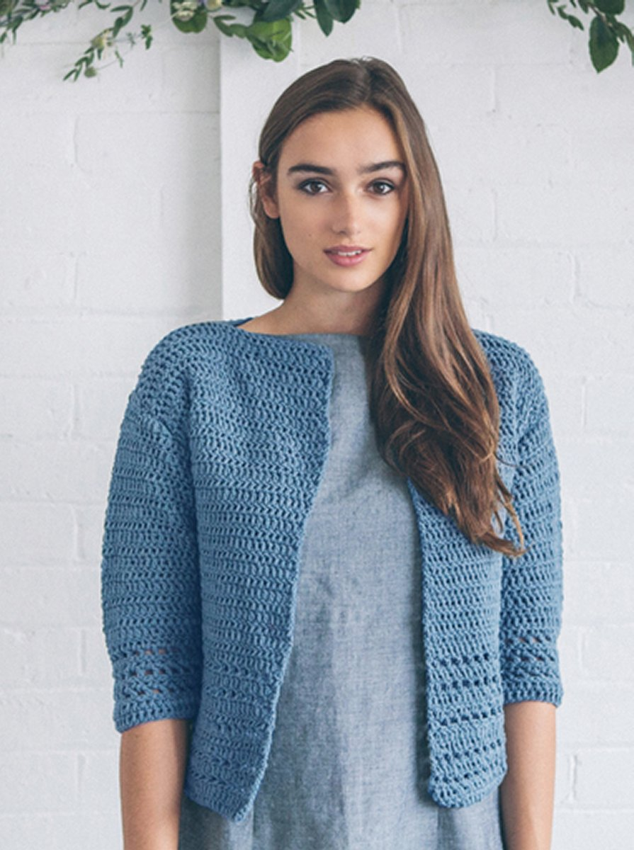 Sarah Hatton Simple Knits - 10 Simple Crochet Projects at Jimmy ...